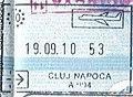 Romania Cluj Napoca passport stamp.jpg