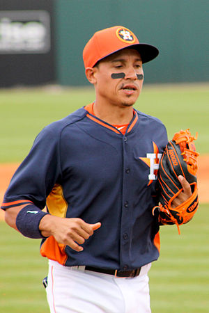 Ronald Torreyes - Torreyes with the Houston Astros in 2015 spring training