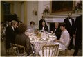 Rosalynn Carter and Jimmy Carter host state dinner for German Chancellor Helmut Schmidt and Mrs. Helmut Schmidt. - NARA - 175460.tif