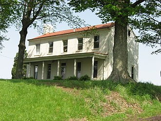 Palmyra Township, Knox County, Indiana - Rose Hill Farmstead, a historic site in the township