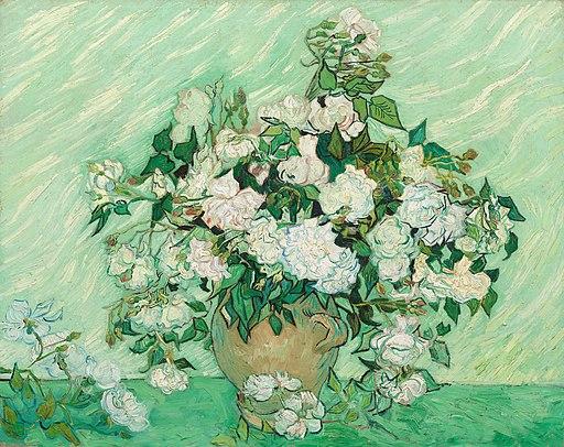 Roses - Vincent van Gogh