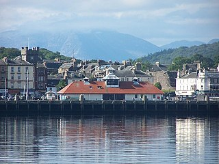 Rothesay principal town on the Isle of Bute, Argyll and Bute, Scotland