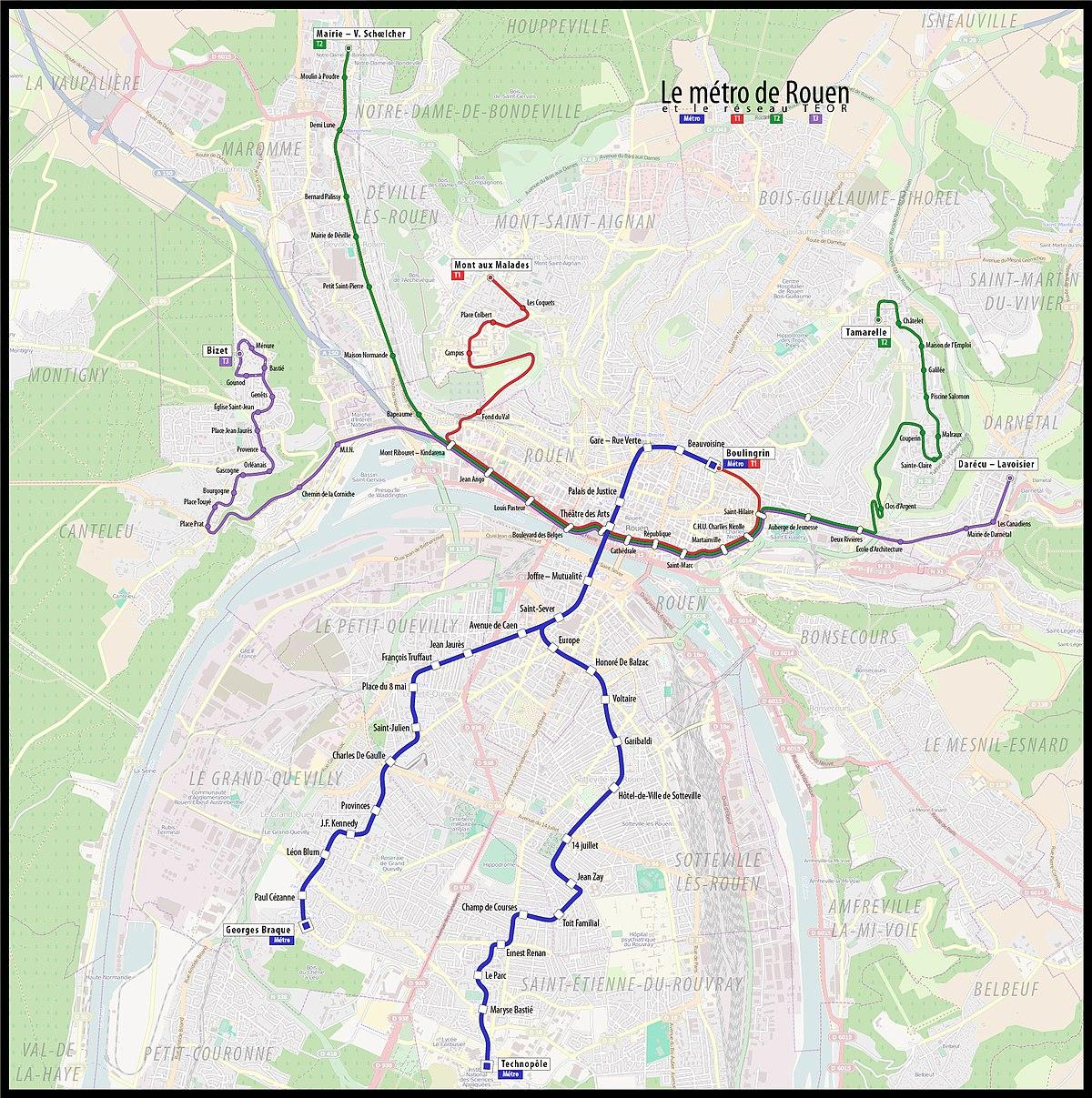 Transport Est-Ouest Rouennais - Wikipedia