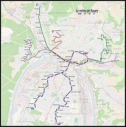 Rouen tramway - Wikipedia