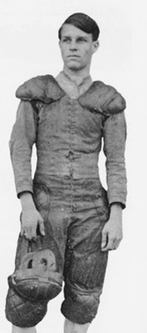 1906 Florida football team - Roy Corbett in uniform.