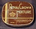 Royal Crown Mixture tobacco blikje, Louis Dobbelmann, Rotterdam pic1.JPG