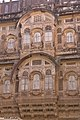 Royal residence Windows at Mehrangarh Fort.jpg