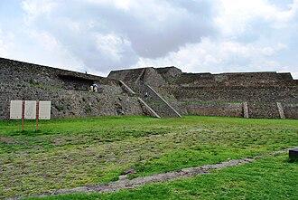 Teotenango - Main entrance to the ancient city