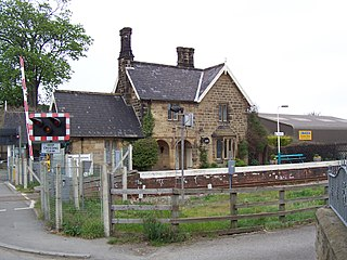 Ruswarp railway station Railway station in North Yorkshire, England