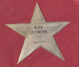 Ruth Leuwerik actress