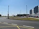Ruzyně, Schengenská, otočka Letiště.jpg