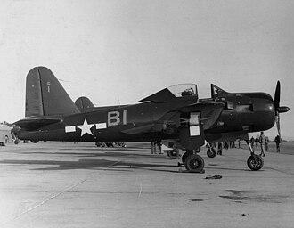 Ryan FR Fireball - An FR-1 Fireball of VF-66 at NAS North Island, 1945
