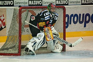 Sébastien Caron Canadian ice hockey player