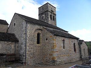 Sévérac-le-Château - Sévérac église Saint-Dalmazy.