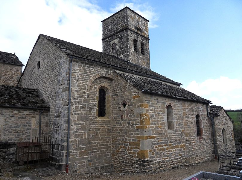 Église Saint-Dalmazy de Sévérac-le-Château (Aveyron) (Classé)