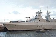 SAS Isandlwana F146 V&A Waterfront 1