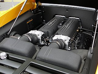 engine developed for Lamborghini