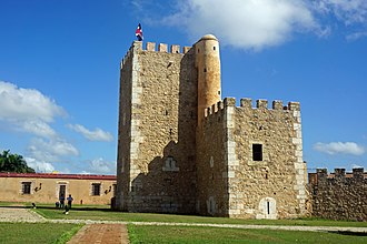 Ciudad Colonial (Santo Domingo) - Fortaleza Ozama is the oldest fortress built in the Americas
