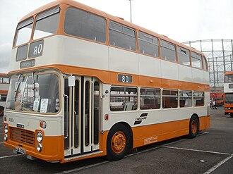 Bristol VR - Preserved SELNEC Passenger Transport Executive in October 2009