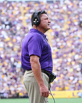 Ed Orgeron - Orgeron as LSU head coach