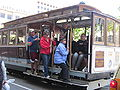SF cable car no. 12 on Powell St. 1.JPG