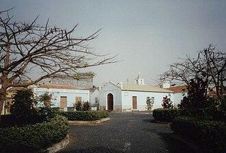 São Filipe, Cape Verde - Chapel at Praça Alberto da Silva