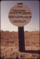 SIGN ALONG THE COLORADO RIVER-MISSPELLED BUT CLEAR - NARA - 548845.tif