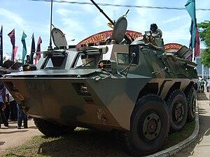Mechanized Infantry Regiment - A WZ551 of the Mechanized Infantry Regiment.