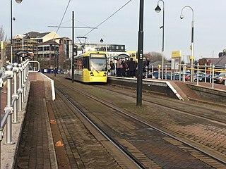 Salford Quays tram stop