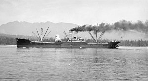 SS Golden Bear in Vancouver