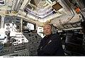 STS-127 Hurley at aft flight deck controls.jpg