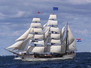 Europa (ship) - Image: SV Europa barque 2007 07