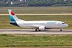 SX-LWA Boeing 737-330 Lumiwings DUS 20MAY18.jpg