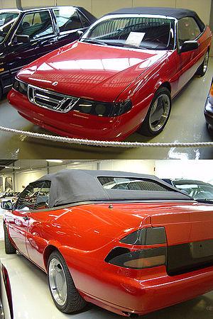 Saab 9000 - Convertible prototype