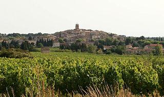 Sablet Commune in Provence-Alpes-Côte dAzur, France
