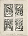 Sacred heart of Mary Sacred heart of Jesus ; Descent from the cross ; The crucifixion. LCCN2013646731.jpg
