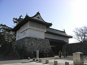 Saga castle shachinomon gate.jpg