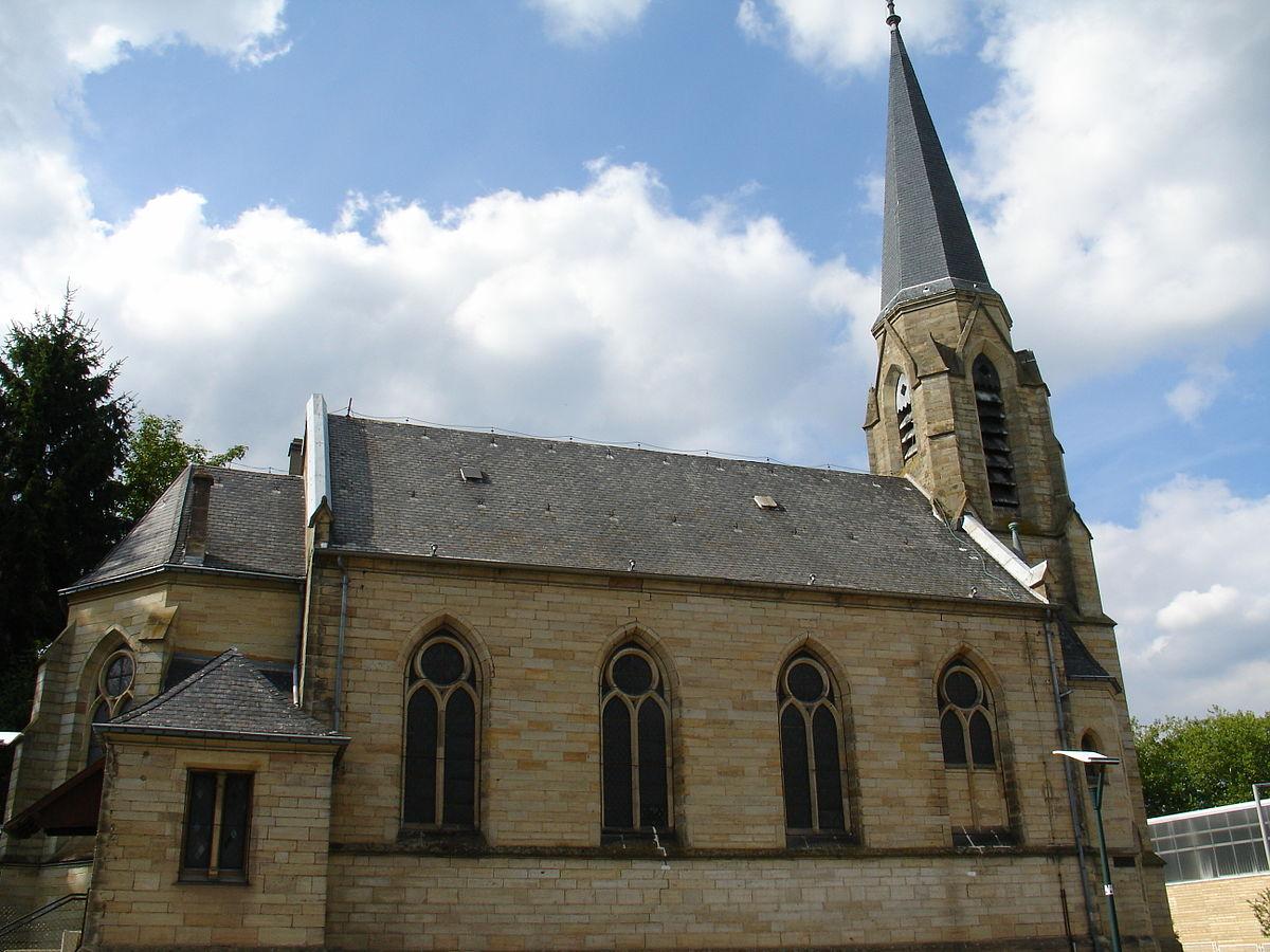 temple protestant de saint-avold — wikipédia