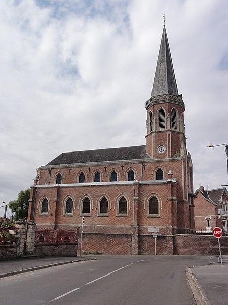 Saint-Simon (Aisne) Église de la Nativité-de-la-Sainte-Vierge