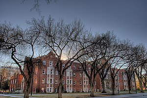 Saint Joseph's College on the north campus of ...