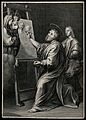 Saint Luke. Engraving after Raphael. Wellcome V0032574.jpg