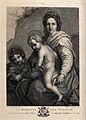 Saint Mary (the Blessed Virgin) with the Christ Child and Sa Wellcome V0033944.jpg