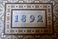 Saint Raphael Catholic Church (Springfield, Ohio) - narthex, tile floor, 1892.jpg