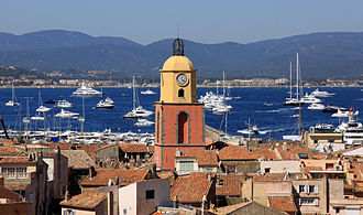 Tourism in France - Saint-Tropez on the Côte d'Azur