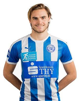 Sakari Tukiainen - Tukiainen playing with Thisted FC