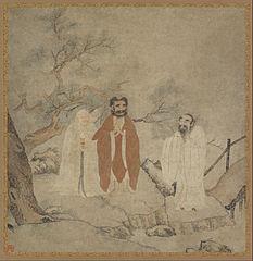 Sakyamuni, Lao Tzu, and Confucius