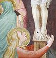 Sala capitolare di s. felicita, crocifissione di niccolò gerini, 1390 ca. 08.JPG