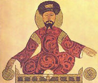 Saladin, from a 12th-century Arab codex.