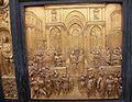 Salomó i la reina de Saba - Porta del Paradís - Baptisteri de Florència.JPG