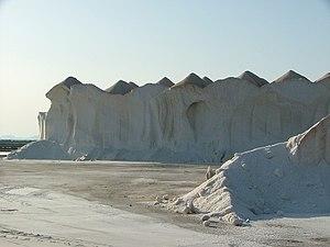 Campos, Majorca - Salt stocks in Ses Salines.